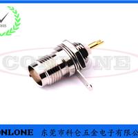 TNC母头焊线式插座,TNC射频同轴连接器