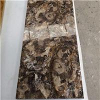 高端装饰石材 宝石大板 树化石 木化石
