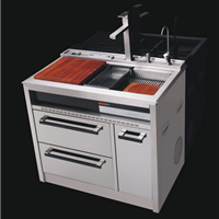 供应爱尔卡集成水槽,不锈钢水槽AEK-9501
