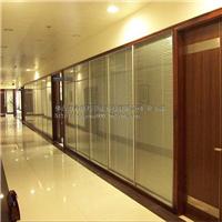 80双波百叶玻璃隔断 成品办公室隔墙 高间隔