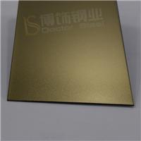供应福州 304高比喷砂钛金不锈钢电梯门板