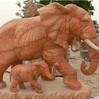 供应动物石雕   石狮子   大象   麒麟