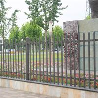 供应围墙护栏锌钢护栏围墙栏杆栅栏HX-6