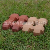 宜兴陶土砖/草坪砖/井字形草坪砖/植草/种草