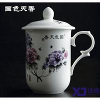 供应景德镇手绘陶瓷茶杯,青花瓷茶杯