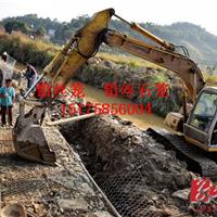 高镀锌PVC涂塑铅丝笼 河床生态治理铅丝石笼