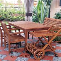 供应户外实木休闲桌椅供应