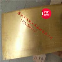 提供H65黄铜板食品级优质黄铜板