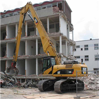 供应挖掘机加长臂,三段式多段式拆房机