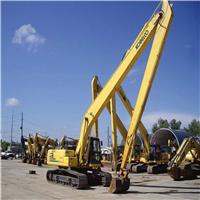 供应挖掘机加长臂,两段加长臂,18米加长臂