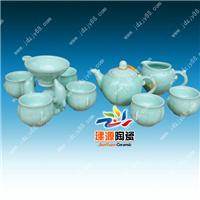 供应礼品定做陶瓷茶具 礼品陶瓷茶具厂家