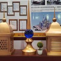 北京别墅铜烟囱屋面装饰烟囱帽定制铜烟囱帽
