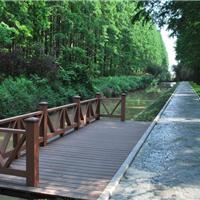 供应合肥别墅塑木景观、别墅花架、景墙