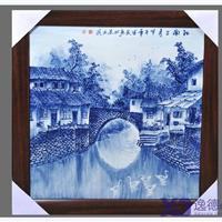 供应 清明上河图瓷板画 定做陶瓷瓷板画