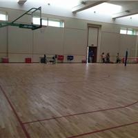 扎兰屯市畅森体育木地板生产厂家直销特供