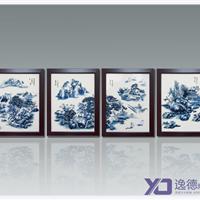 供应青花瓷手绘瓷板画,陶瓷壁画
