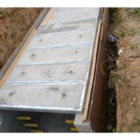 供应:优质镀锌角铁包边混凝土砼盖板