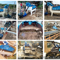 机制砂矿石粉回收生产线配置细砂回收机