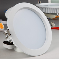 供应LED筒灯外壳配件6寸开孔170mm