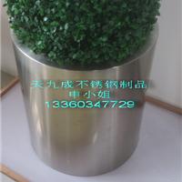 酒店环境保护不锈钢装饰花盆 艺术造型花盆