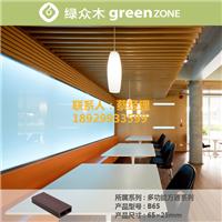 供应知名品牌绿众塑木方通
