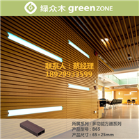 供应知名品牌绿众木塑方通