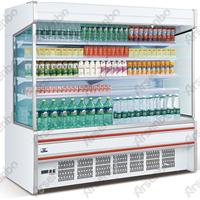 饮料风幕柜 超市开放饮料风幕柜生产厂家