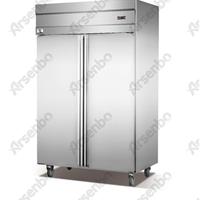 两门冷藏冷冻柜 佛山厨房不锈钢冷藏柜直销