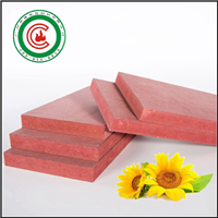 供应红色难燃密度板有哪些优点/防火等级
