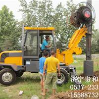 轮式旋挖机厂家济宁贵和机械重工机械