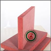 供应红色阻燃中纤板的检测标准