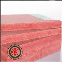 供应3mm-25mm红色难燃中纤板制造工艺