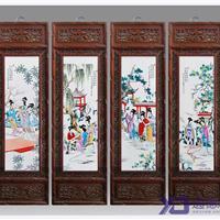 供应青花瓷瓷板  酒店瓷板壁画