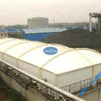 污水池反吊膜结构|污水处理厂密封结构|奥宏