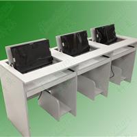 供应科桌翻转电脑桌 学生翻转电脑桌电教桌