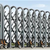供应商丘分段门伸缩门/平移门 无轨直线门