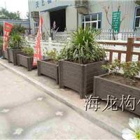 中山海龙 公园市政景观 水泥仿木花箱