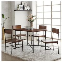 做旧实木咖啡桌 仿古铁艺茶几 老松木小边桌