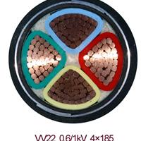 铜芯铠装金环宇电缆ZR-VV22-3*95 2*50mm2