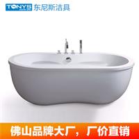 供应佛山品牌浴缸直销 SPA级休闲美容浴缸