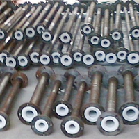 卤水回水管/盐水碱水输送钢衬塑管道