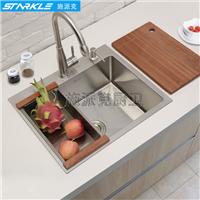 施派克304不锈钢水槽厨房手工水槽SK7843