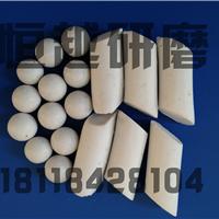 供应棕刚玉斜圆柱研磨石苏州振动抛光石厂家
