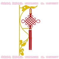 供应LED中国结路灯发光中国结装饰灯具