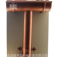 供应7R型纯铜落水系统,纯铜天沟,雨水管