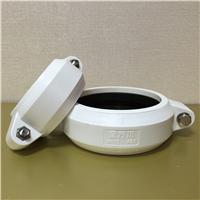 HDPE沟槽式排水管,ABS卡箍