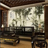 网吧棋牌休闲大厅套房主题壁画背景墙