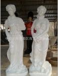 欧式四季女神雕塑 大型玻璃钢人物雕塑
