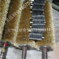 供应钢丝辊   不锈钢丝刷辊  镀铜钢丝刷辊