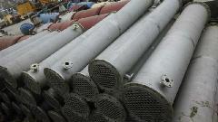 供应二手列管式不锈钢冷凝器